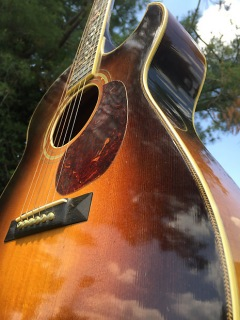 Danny Gatton's Personal Randy Wood Acoustic