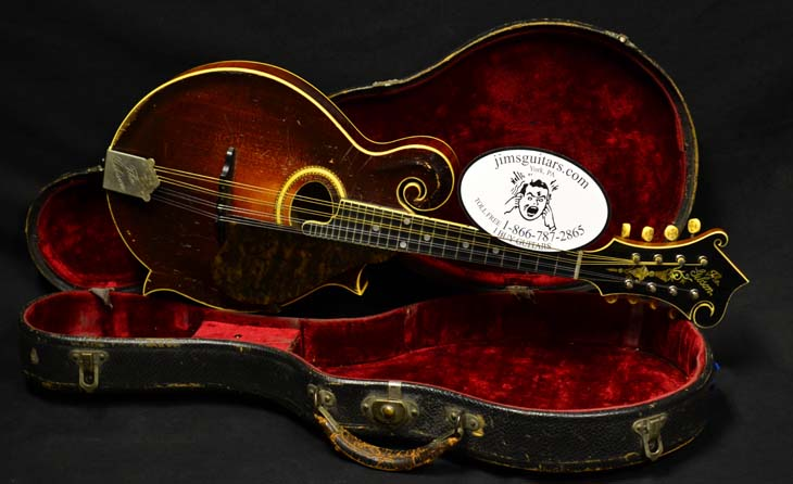 F4 Mandolin  -  Cat No:   -  Click To Order  -  ID: 4131
