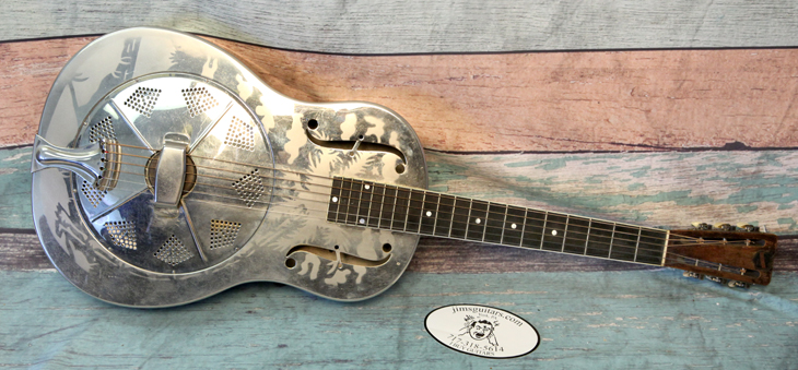 Style O Resonator   -  Cat No:   -  Click To Order  -  ID: 4259