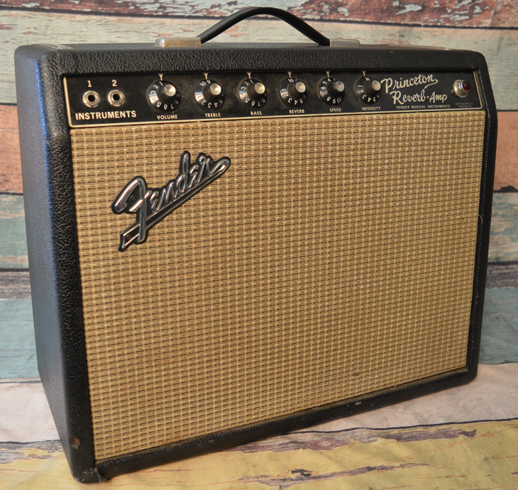 Princeton Reverb  -  Cat No:   -  Click To Order  -  ID: 4265