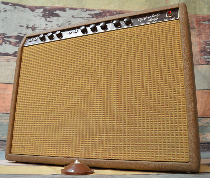 1962 Vibrolux Amp  -  Cat No:   -  Click To Order  -  ID: 4336