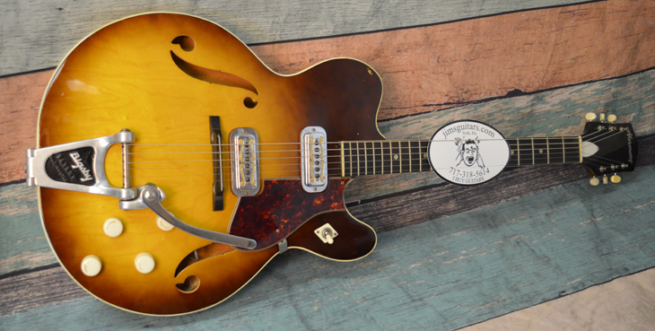 1962 Harmony H74  -  Cat No:   -  Click To Order  -  ID: 4407
