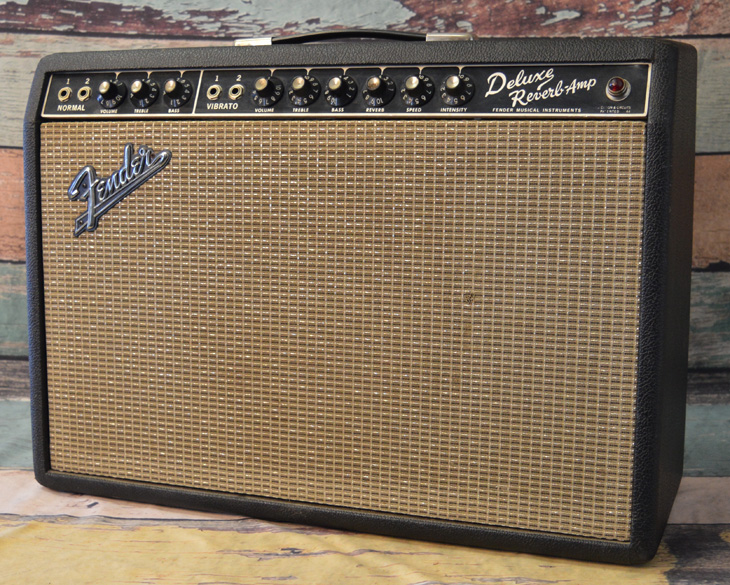 Black Face Deluxe Reverb  -  Cat No:   -  Click To Order  -  ID: 4397