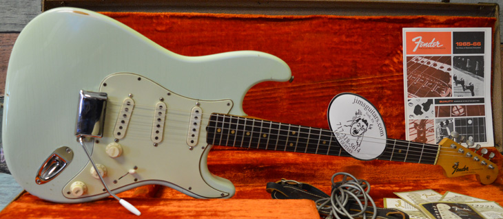 '65 Fender Stratocaster  -  Cat No:   -  Click To Order  -  ID: 4406