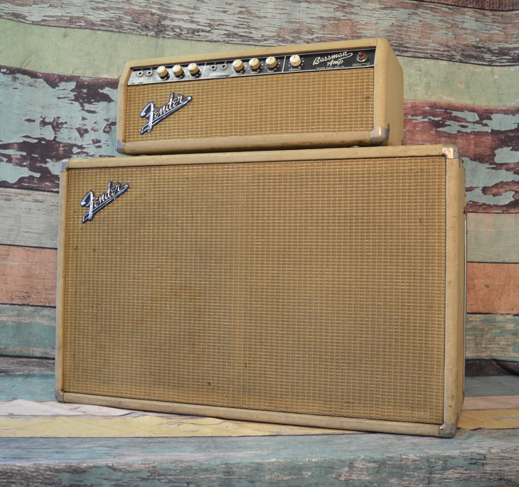 1964 Bassman Head and Cabinet  -  Cat No:   -  Click To Order  -  ID: 4410