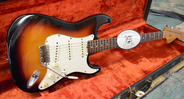 1966 Fender Stratocaster  -  Cat No:   -  Click To Order  -  ID: 4396