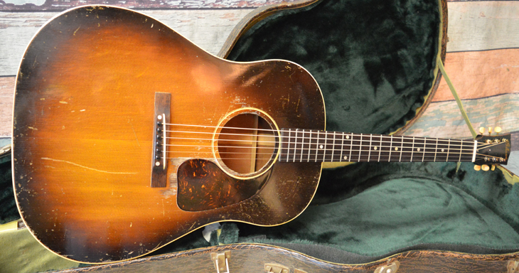 1947 Gibson J-45  -  Cat No:   -  Click To Order  -  ID: 4434