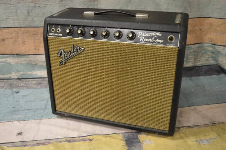 1966 Fender Princeton Reverb  -  Cat No:   -  Click To Order  -  ID: 4442