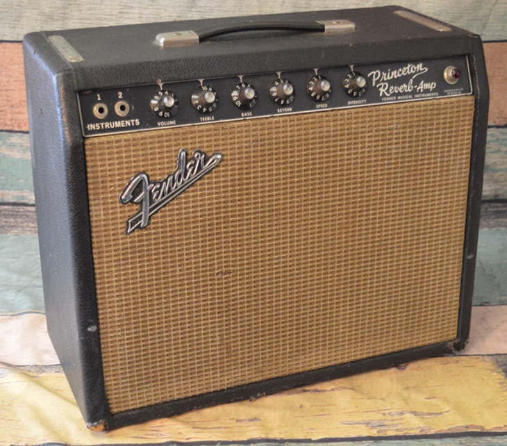 1967 Fender Princeton Reverb  -  Cat No:   -  Click To Order  -  ID: 4416