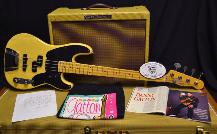 P/J Bass Custom Made for Danny Gatton  -  Cat No:   -  Click To Order  -  ID: 3947
