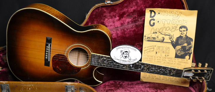 Danny Gatton's Personal Randy Wood Custom  -  Cat No:   -  Click To Order  -  ID: 3945